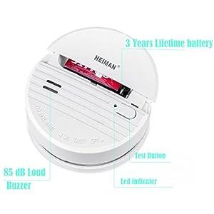 HEIMAN-Independent-Smoke-Detector-Smoke-Alarm-Fire-Alarm-With-Photoelectric-Sensor