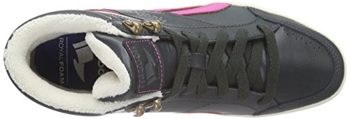 Reebok Royal Aspire, Alte Scarpe Da Ginnastica da donna Nero (gravel/charged pink/paperwhite/med grey/collegiate royal)