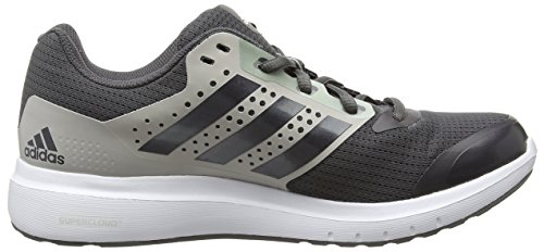 adidas Duramo 7, Chaussures de Course Femme, Eqt Green-Running White-Shock Green, 40 EU Grau (Clear Granite/Granite/Dust Met. S09)