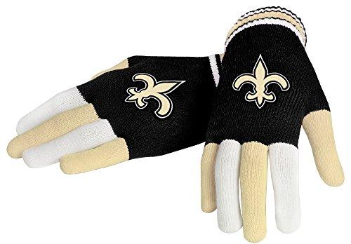 new-orleans-saints-nfl-mens-team-knit-gloves