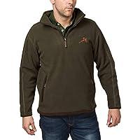 Rydale Gransmoor Fleece Half Zip Jacket Olive