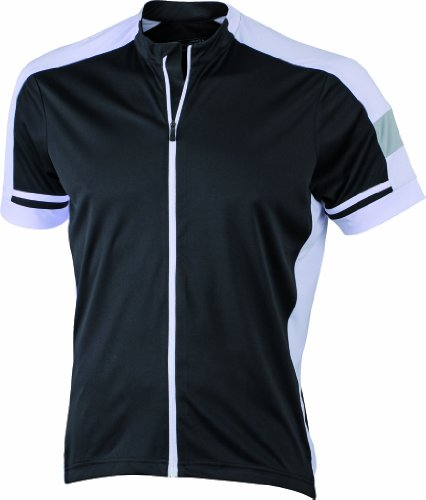 James & Nicholson Herren Sport Top Trikot Men's Bike-T Full Zip