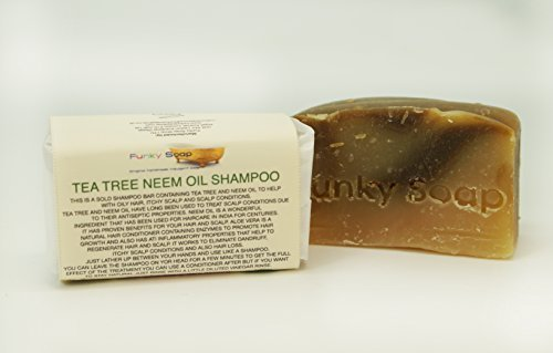 Neemöl festes Shampoo, 65g, 100% Natürlich Handgemacht (Tee-baum-shampoo Für Fettiges Haar)