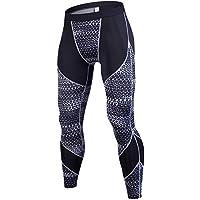 NO BRAND Ropa Casual Guo sigetu Hombres de Secado rápido Stretch Pantalones Deporte (Color : Black Grey, tamaño : XL)