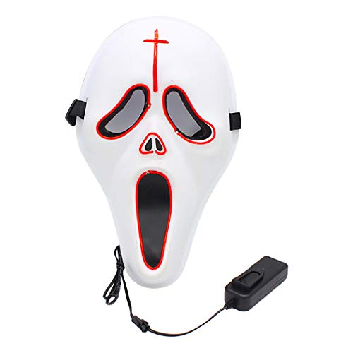 ive Fashion Light up Costume Mask Party Mask for Cosplay ()