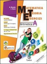 Matematica teoria esercizi. Aritmetica A-Geometria B. Con tavole numeriche e quaderno INVALSI. Per la Scuola media. Con espansione online: 1