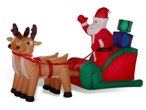 Slitta-renne-con-Babbo-Natale-gonfiabile-illuminato-lungo-240-centimetri-per-la-parte-esterna