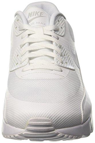 best website 38b27 d5769 Nike Air Max 90 Ultra 2.0 Essential, Chaussures de Course Homme, Bianco  Blanc Cassé ...