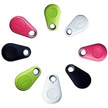 A-goo Localisateur Bluetooth Traceur GPS pour portefeuille, porte-clés, animal domestique, téléphone En forme de goutte