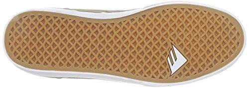 Skate hommes chaussures Emerica The Herman g6Vulc Skate Chaussures WARM GREY