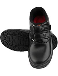 TODAY FOOTWEAR Boys Black Artificial Leather School Shoes