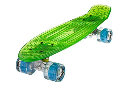 Ridge Skateboard Blaze Mini Cruiser , grün/blau, 55 cm -
