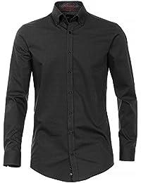 Venti Herren Freizeithemd Easy Care 100% Baumwolle - Body Fit