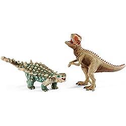 Schleich - Saichania y Giganotosaurus, set pequeño (41426)