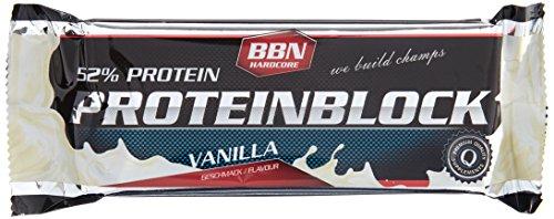 BBN Hardcore Proteinriegel Vanille im Test