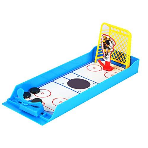 TYY-guang Kreative Mini-Finger-Desktop-Eishockey Schießen Sport Spiel Puzzle Spielzeug Bunter Educational Interaktives Spielzeug für Kinder