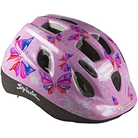 Spiuk Kids - Casco para niños, color rosa, talla 48 - 54