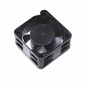 Akasa Black Case Fan Computer case - Computer Cooling Components (Computer case, 23.46 dB, Black, 40 x 40 x 20 mm, 12V, 3-pin)