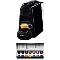 De'Longhi En85.B Macchine per Il caffè a Sistema Nespresso Essenza, 1370 W, 0.6 milliliters, Plastica, Nero