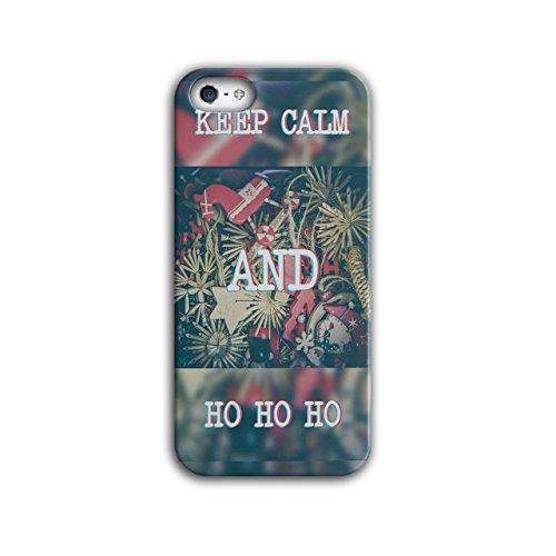 Behalten Ruhig Geschenk Weihnachten Festlich Zeit iPhone 5 / 5S Hülle | (Und Kostüm Frieden Halloween Ruhigen)