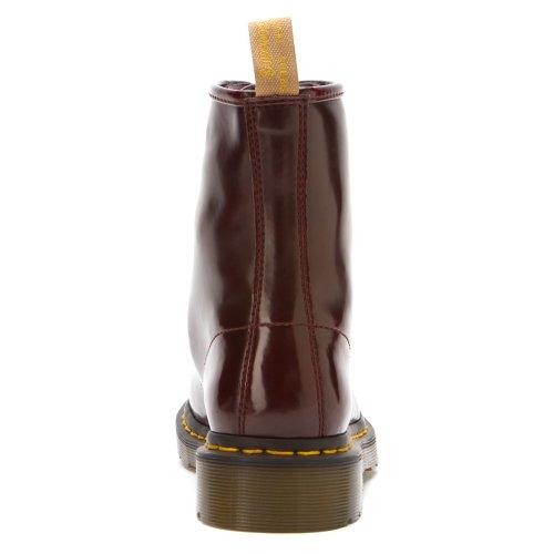 Dr Martens Vegan 1460, Chaussures femme Rouge cerise