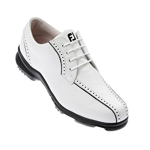 FootJoy - Chaussures Golf Femmes SoftJoys - Blanc/Noir, 40.5