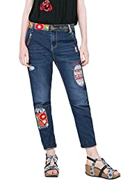 Desigual Denim_new Exotic Boyfriend, Jeans Femme