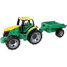 Lena 2122 - Potente Gigantes tractor con remolque, 100 kg de capacidad, aproximadamente 62 cm