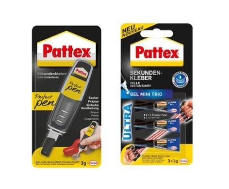 "Pattex 9H GH6-17 Schultten-Bastelset\""Fuáball\"", 6-eckig"