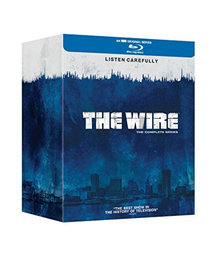 The WIRE - Complete Series on Blu-ray (Dominic West, Idris Elba) 20-Disc