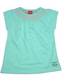 s.Oliver Schlichtes Tunika Shirt in zartem Mint mit gesmoktem Ausschnitt Baby 5727