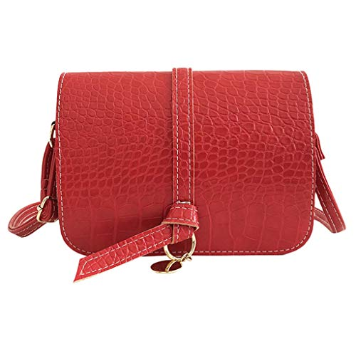 Women's Handtasche Schultertasche Shopper Taschen Umhängetasche, Mode Vielseitig Arbeitsrucksack Vintage Crocodile Shoulder Bag Joker Crossbody Bag Solid Color Bag - Crocodile Hobo