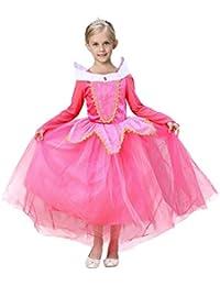 LANDFOX Ropa para bebés,Princesa de la Belleza de la Muchacha Disfraz de Navidad Disfraces de Halloween