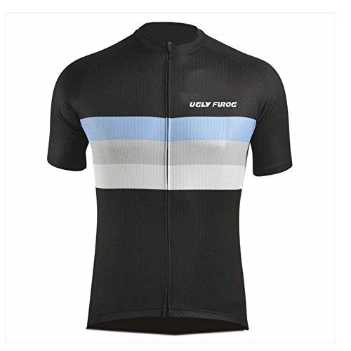 Uglyfrog DSJ07 2018-2019 Kurze Ärmel MTB Triathlon Trikots & Shirts Herren Radsport Bekleidung Radtrikot Fahrradtrikot Fahrradbekleidung für Männer Sommer Sport & Freizeit Top -