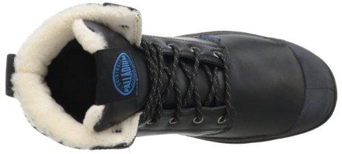 Palladium Pampa Sport Cuff WPS Unisex-Erwachsene Desert Boots Schwarz (Black/Dark Gum)