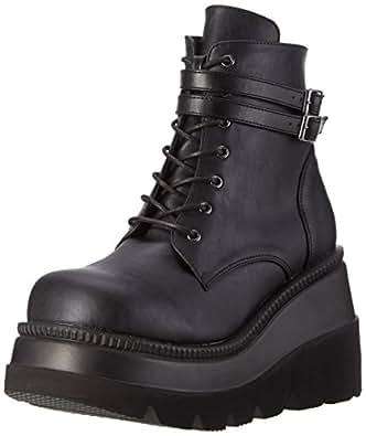 Demonia Damen Shaker-52 Stiefel, Schwarz (Schwarz), 36 EU
