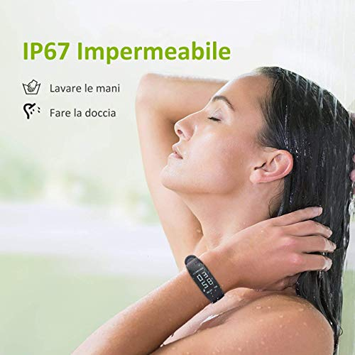 Zoom IMG-1 omorc fitness tracker impermeabile ip67