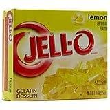 Jell-O Lemon Gelatin Dessert 3 OZ (85g)