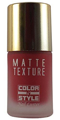 Color N Style Matte Texture Nail Paint Mt 20