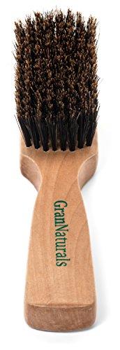 GranNaturals Pelo de Cerdas de Jabalí y Cepillo de Barba de Hombre
