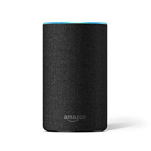 Amazon Echo Decorative Shell (fits Amazon Echo 2nd Generation only), Charcoal Fabric