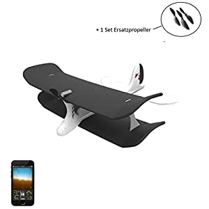 Smart-planet smartplane avion téléguidé par-unique et haute qualité, flyer, rC avion 1 compartiment de --- hélice ou l'application smartphone de la technologie électrique avion bluetoothSmart technologie high tech