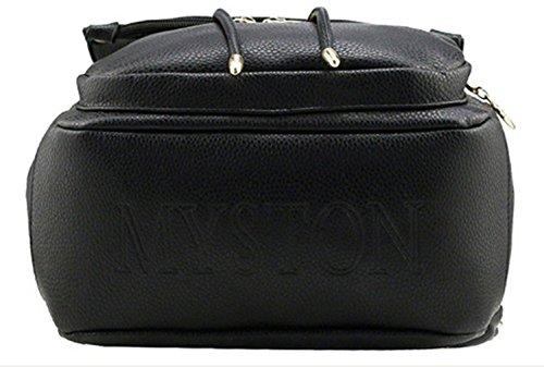Keshi Pu Cool Damen accessories hohe Qualität Einfache Tasche Schultertasche Freizeitrucksack Tasche Rucksäcke Braun