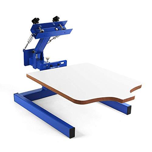 VEVOR NS101-M Silk Screen Printing Machine 1 Farbe 1 Station Siebdruckmaschine DIY Screen Press Printing Machine Siebdruck Set (NS101-M) -