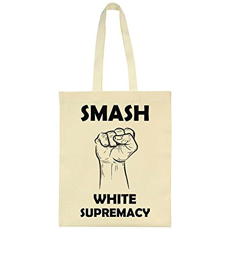 Smash White Supremacy Fist Toile Sac Fourre-tout Tote Bag
