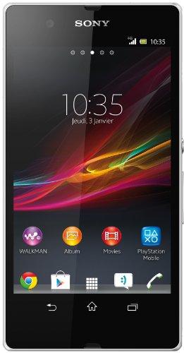 Sony Xperia Z Smartphone mit Betriebssystem Google Android 4.1 (Jelly Bean), 16GB interner Speicher
