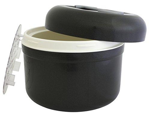 Eiswürfelbehälter handliche 2,5 l anthrazit vollisolierte Profiausführung