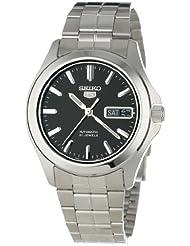 Seiko Herren-Armbanduhr XL Analog Automatik Edelstahl SNKK93K1