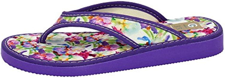 Gema Garcia 2006-3 Chinelas DE Dedo Mujer Zapatillas CASA