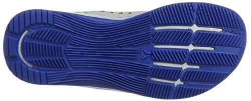 Reebok Crossfit Nano 7, Scarpe Sportive Indoor Donna Multicolore (White/awesome Blue/primal Red/black/skull Grey)